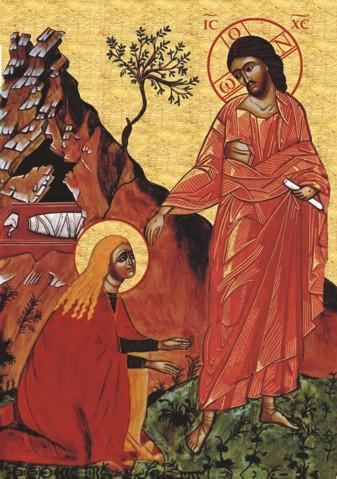 Auferstandener mit Maria Magdalena